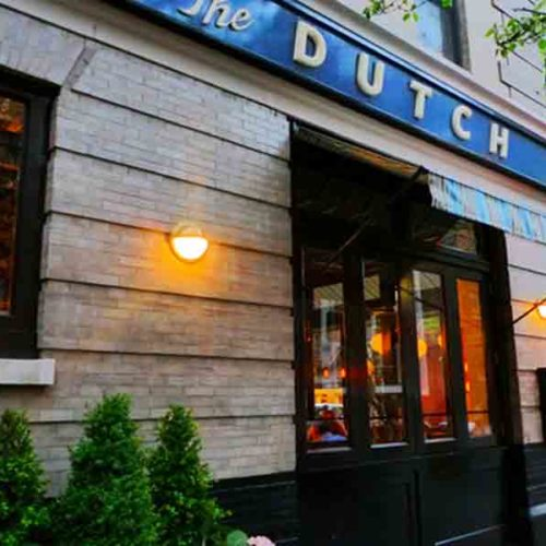 Dinner At The Dutch In SoHo