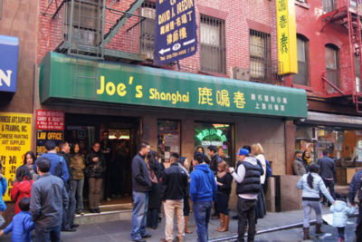 JOE'S SHANGHAI RESTAURANT