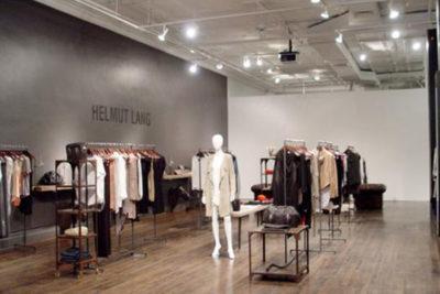 Helmut Lang Clothing Shop