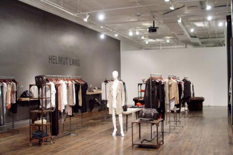 Helmut Lang Clothing Shop