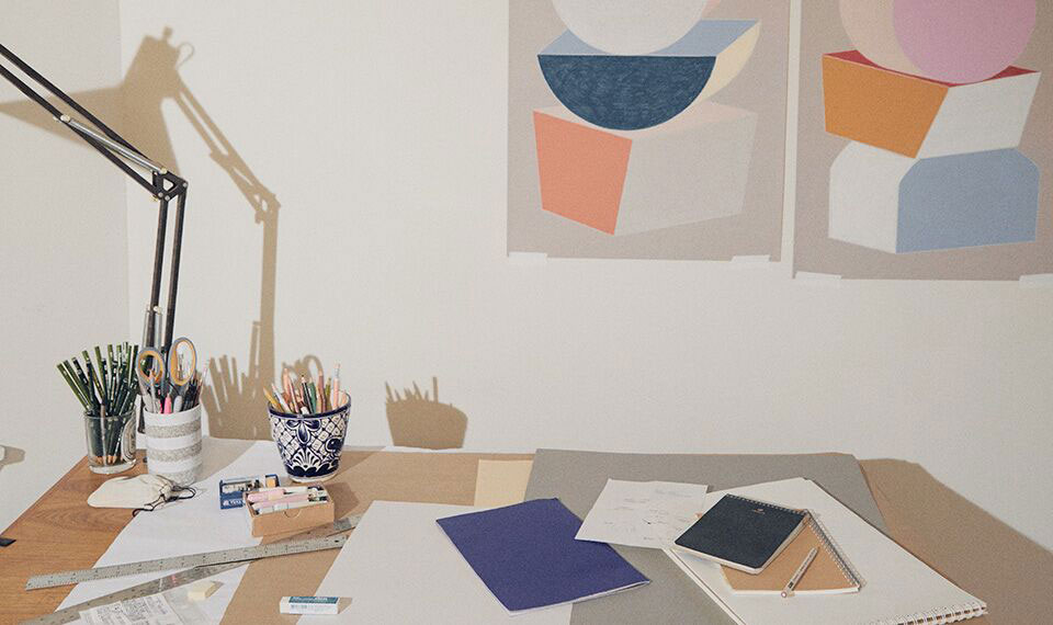 INSIDE THE STUDIO OF NEW YORK ARTIST KARIN HAAS