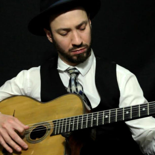 Alex Simon Gypsy Jazz live in the Roxy Lounge