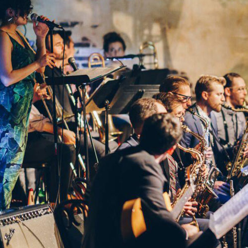 New Alchemy Jazz Orchestra Live in The Django