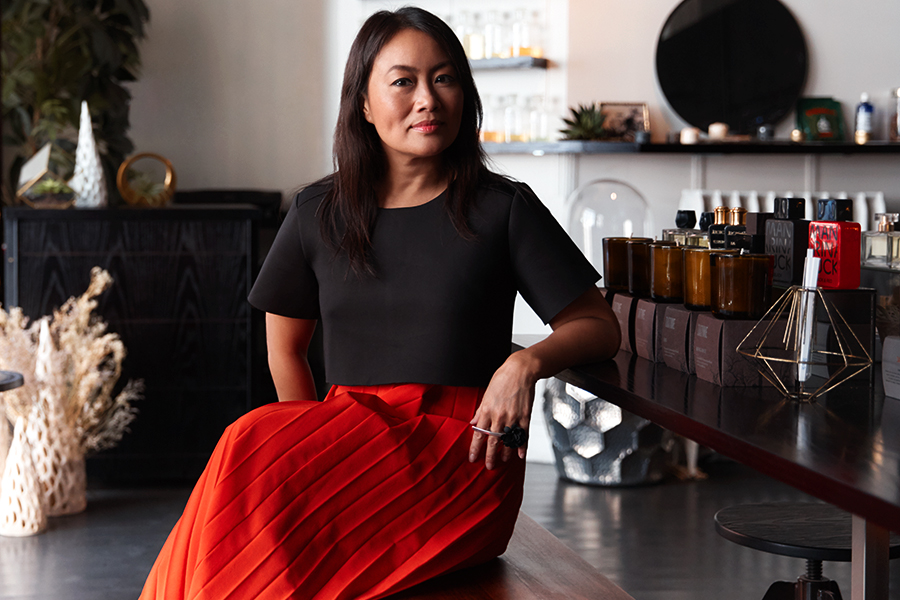 PERFUMARIĒ'S MINDY YANG ON NYC SCENTS, MULTI-SENSORY  EXPERIENCES AND MORE