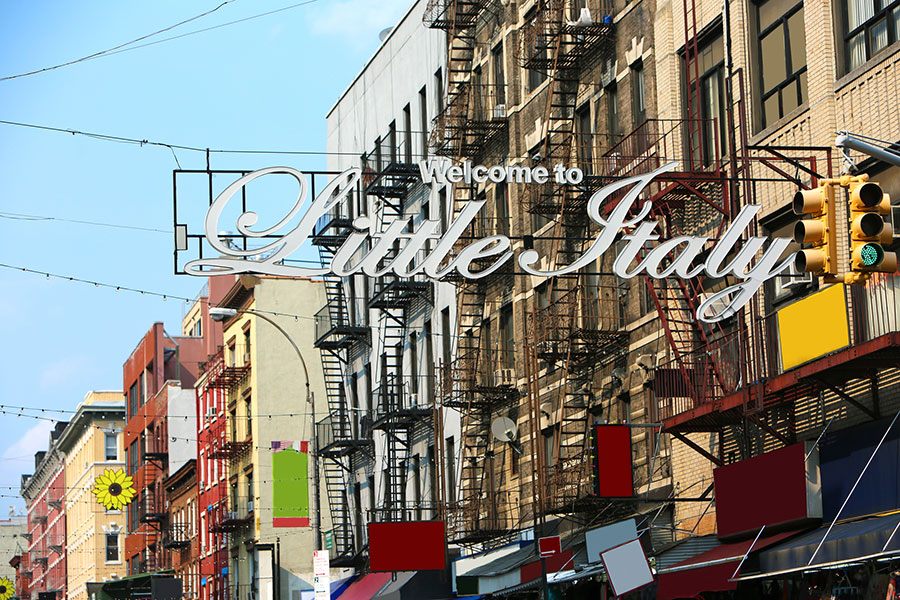 LITTLE ITALY: A WALK THROUGH HISTORY