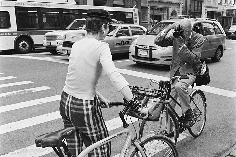 CELEBRATING BILL CUNNINGHAM, A TRUE DOCUMENTARIAN OF  NEW YORK LIFE