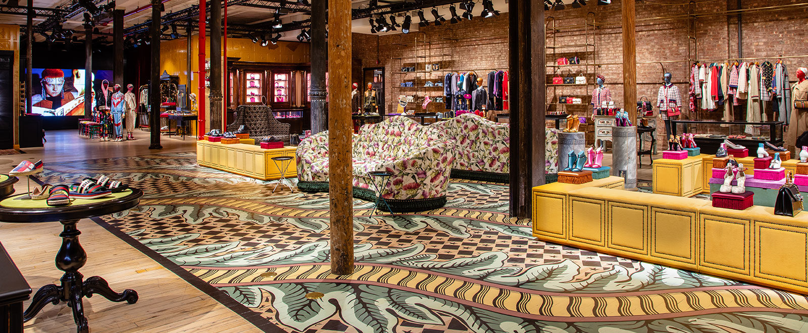 GUCCI'S NEW DESTINATION TAPS INTO SOHO'S CREATIVE HERITAGE