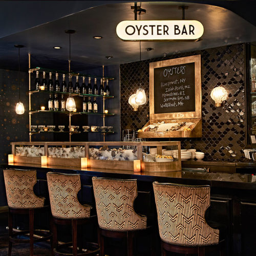 THE OYSTER BAR AT THE ROXY HOTEL