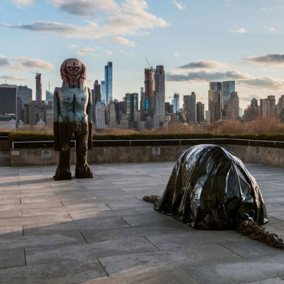 The Roof Garden Commission: Huma Bhabha We Come in Peace at the MET