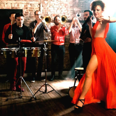 Williamsburg Salsa Orchestra live in The Django