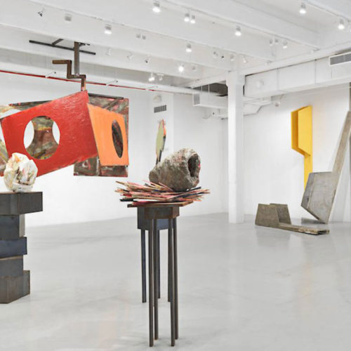 "Phyllida Barlow, ""Tilt"" at the Hauser & Wirth"
