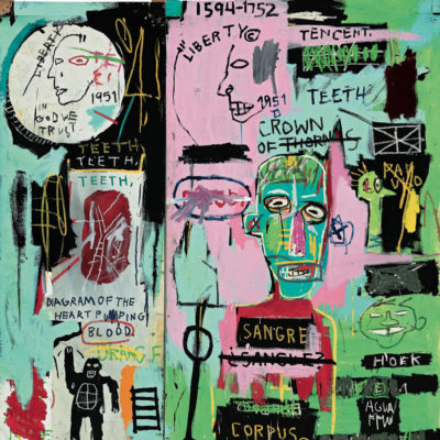JEAN-MICHEL BASQUIAT at the Brant Foundation