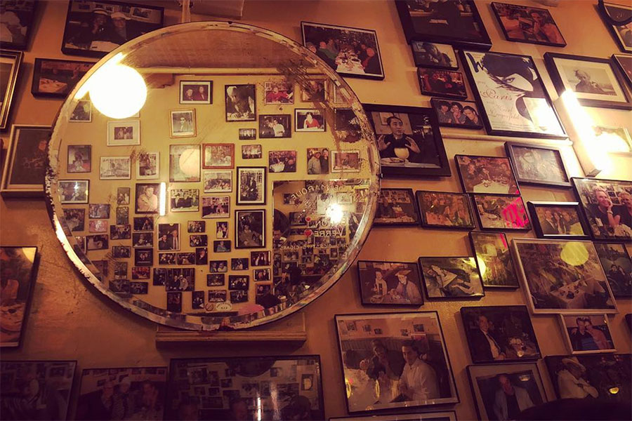 Famed Photo Walls of NY
