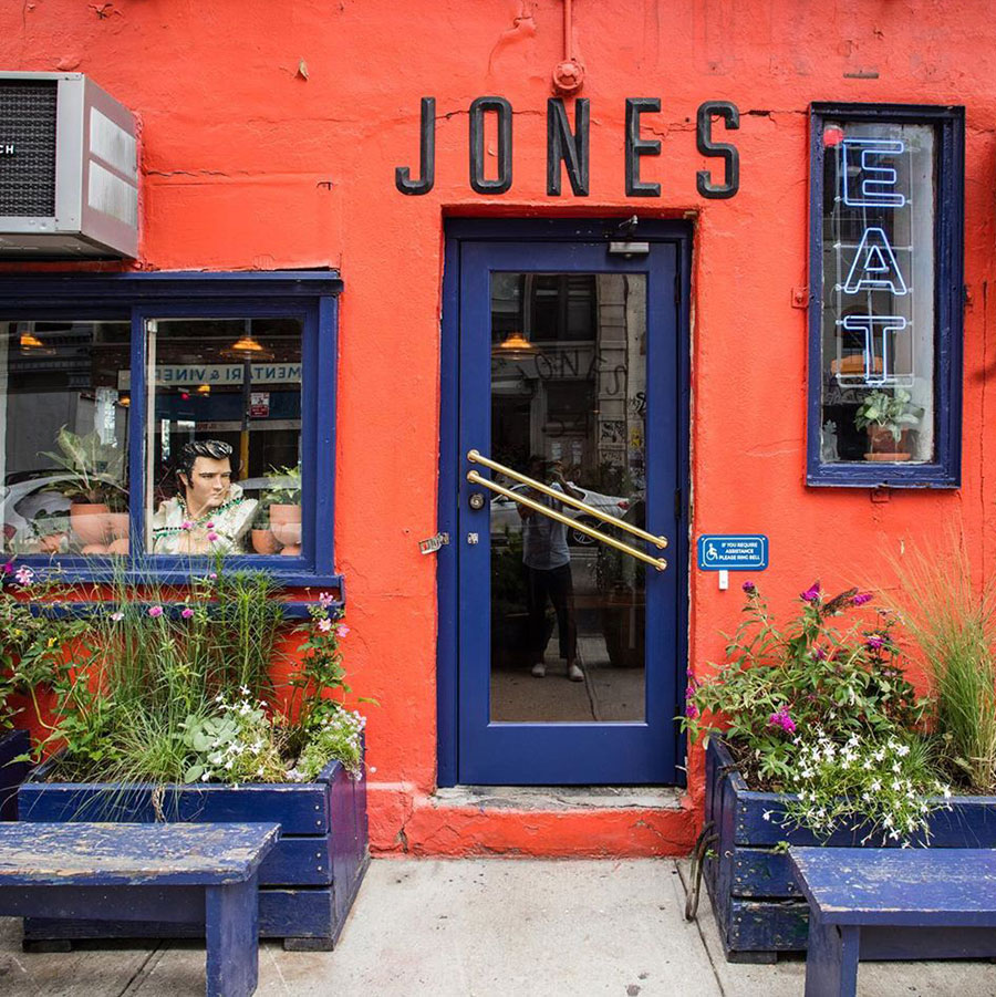 The Jones Noho restaurant all-day cafe new York
