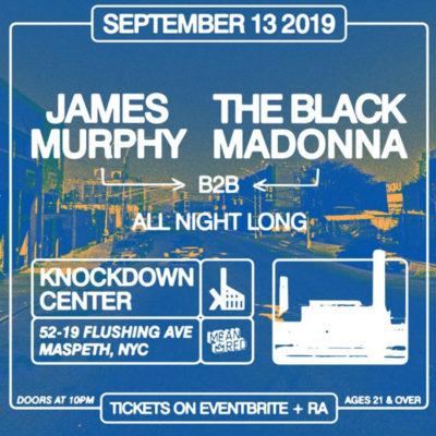James Murphy & Black Madonna DJ set at the Knockdown Center