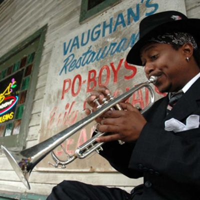 Kermit Ruffins live at Sony Hall