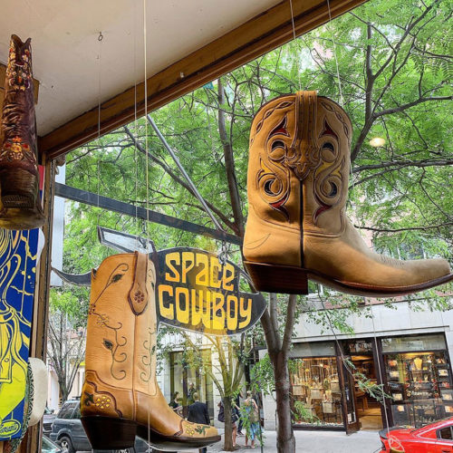 Space Cowboy Nolita Western Boots Accessories
