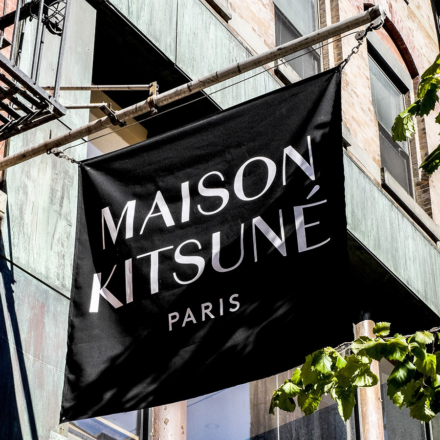 Maison Kitsune Soho Paris Clothing Records Coffee