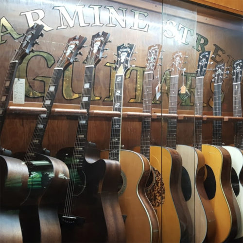 Carmine Street Guitars Rick Kelly Greenwich Village