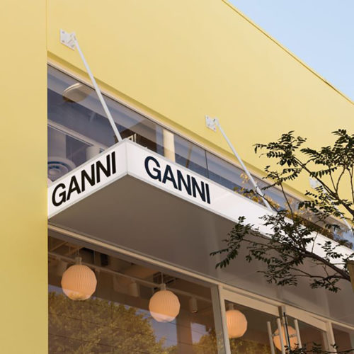 Ganni clothing store SoHo New York