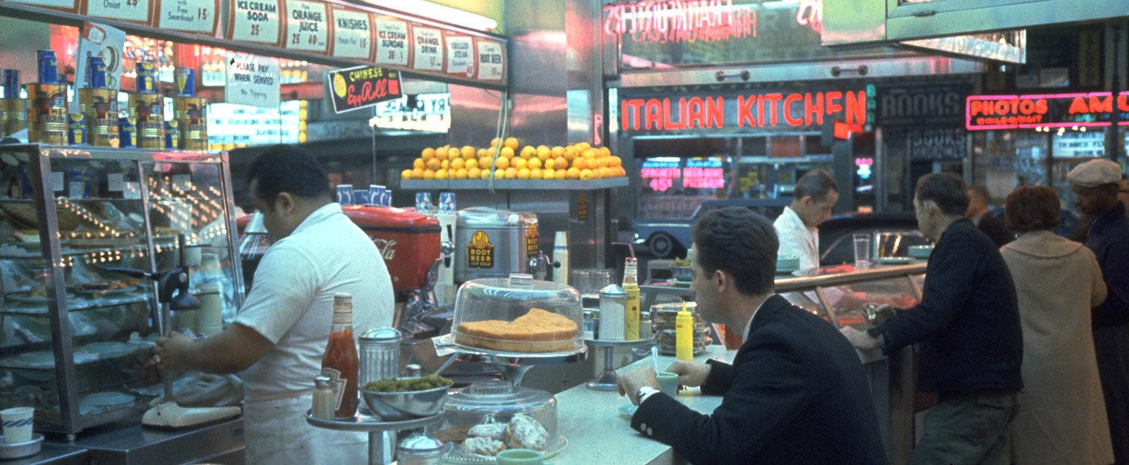 New York Diner Soho Diner La Bonbonniere Square Diner Veselka Walker's Empire Diner