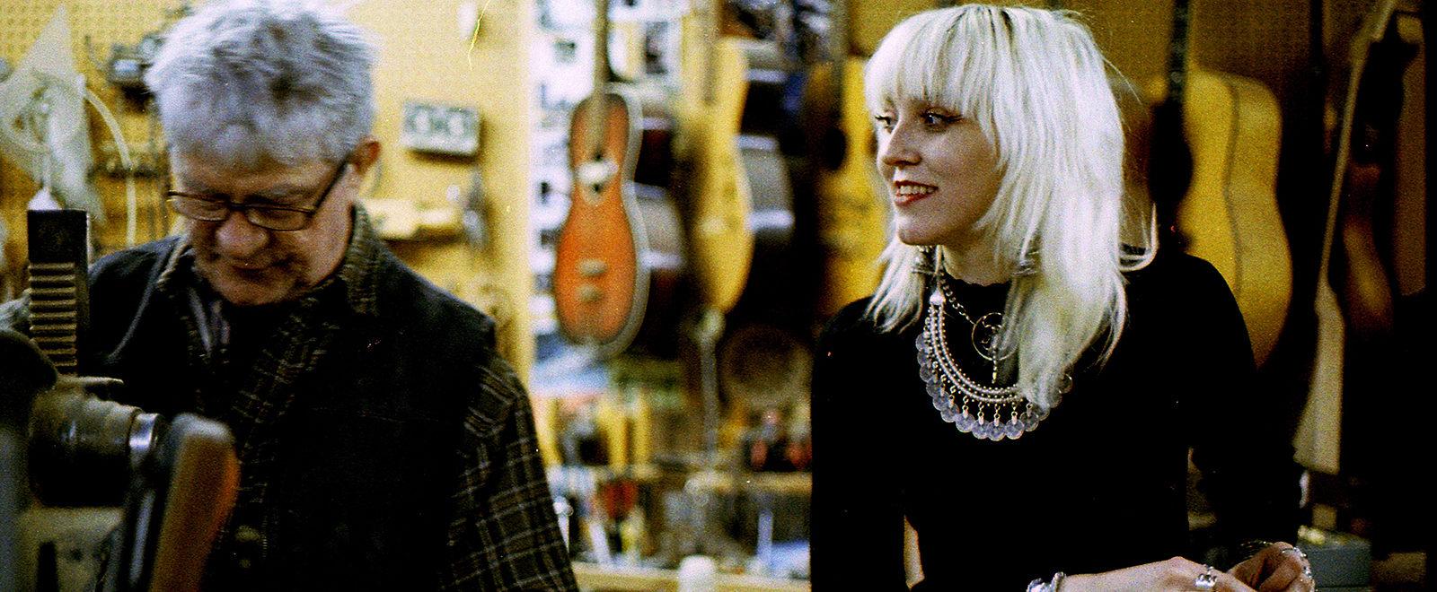 Cindy Hulej Guitars Carmine Street Guitars New York