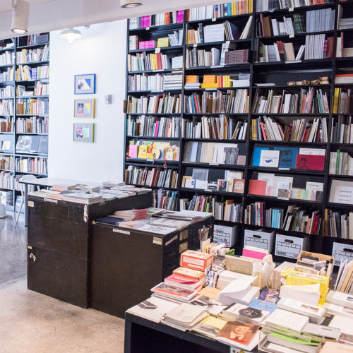 Printed Matter Bookstore New York downtown Artist books