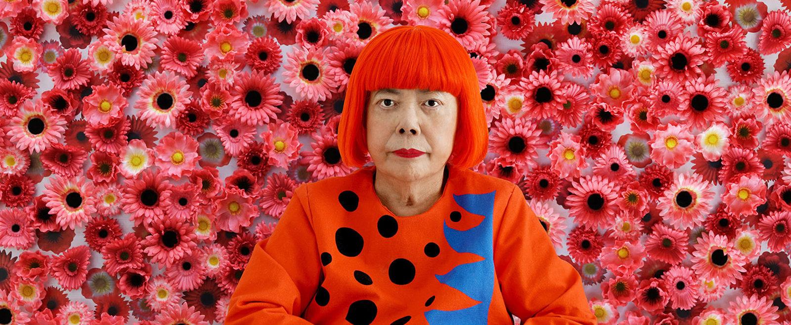 Yayoi Kusama Cosmic Nature Brooklyn Botanical Garden may New York Art Exhibition