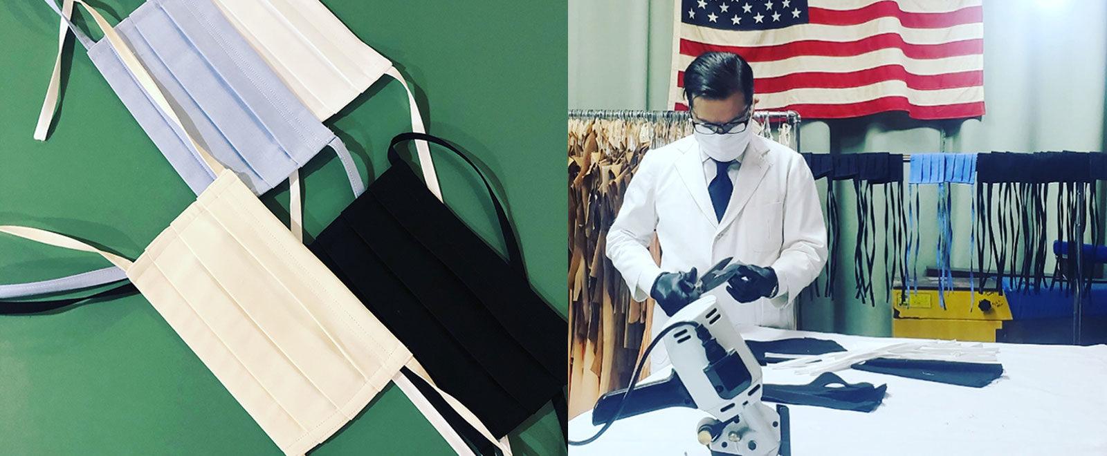 Craig Robinson Brooklyn Tailor Interview Masks COVID-19 Crisis pandemic