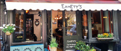 Emmett Burke Emmett's Pizza Soho New York Chicago Deep-dish pizza