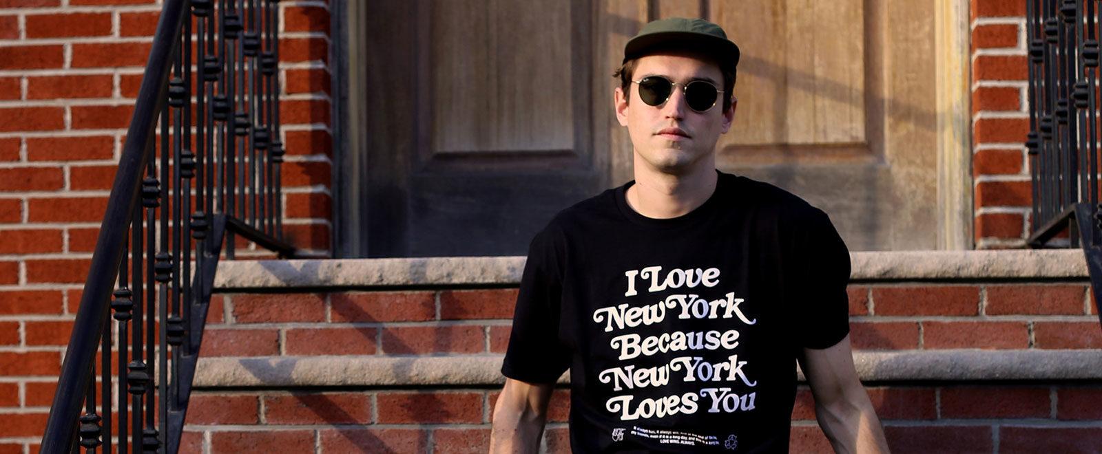 Keegan Sanford New York illustrator art director T-shirt covid-19 robin hood relief fund