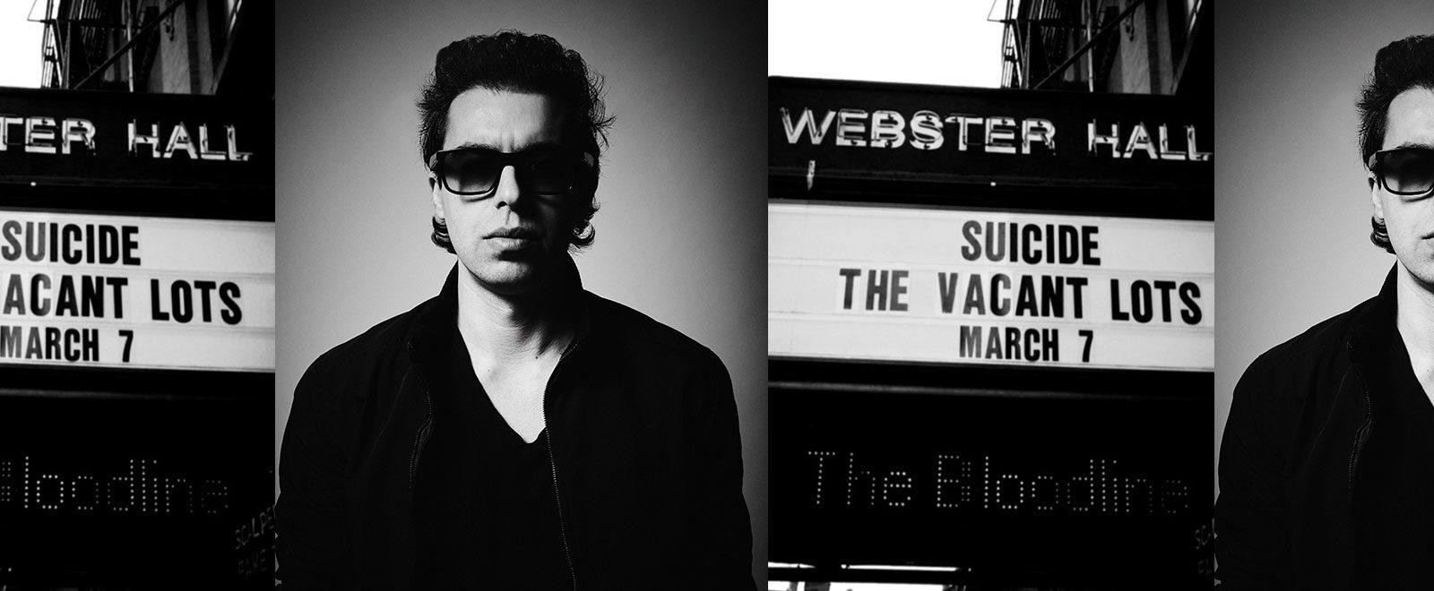 Jared Artaud New York Music Moments Soundrack The Vacant Lots The Velvet Underground Alan Vega Television