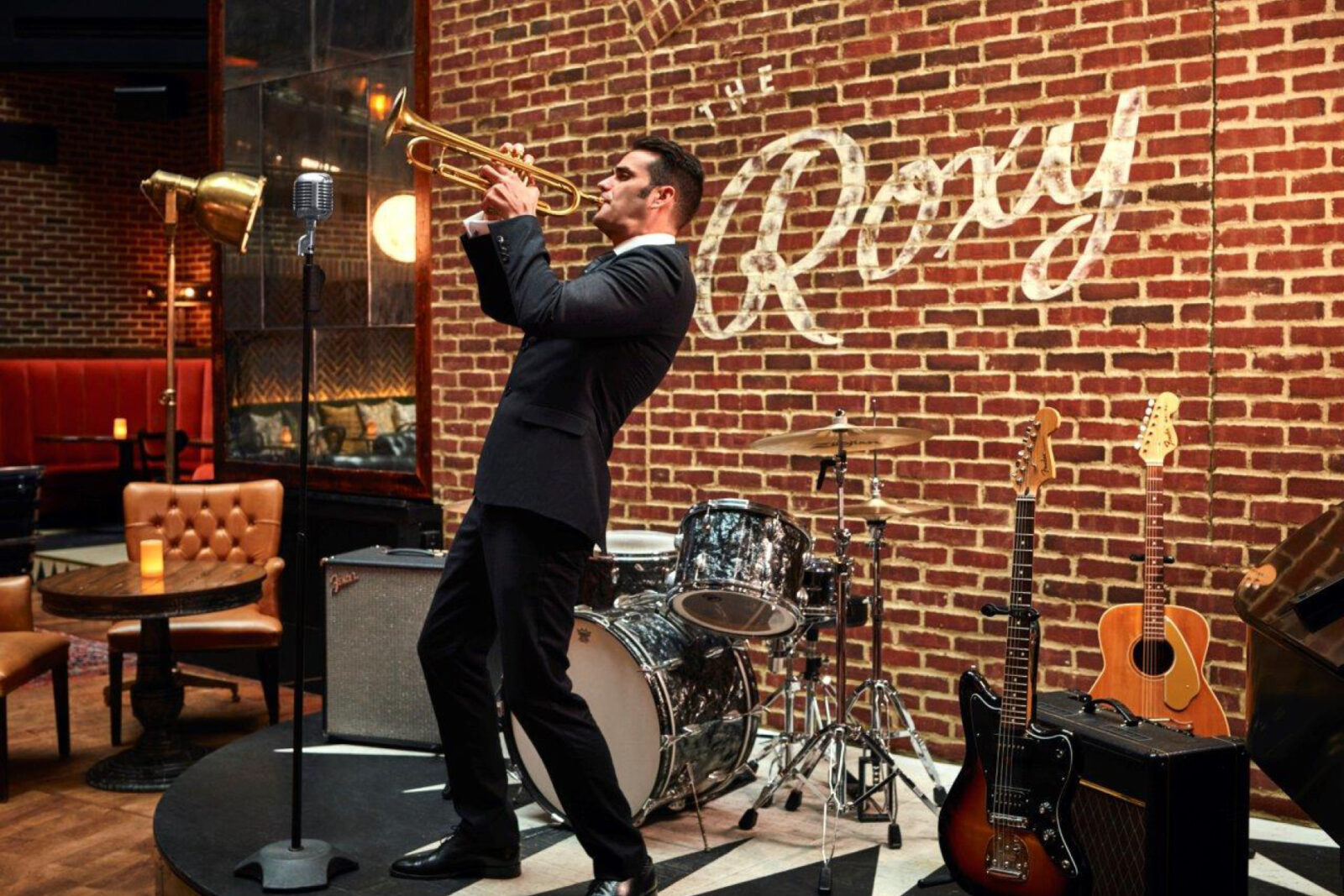Indoor Dining Takes Center Stage at The Roxy