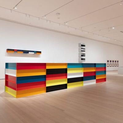 Donal Judd Retrospective MoMA New York Art