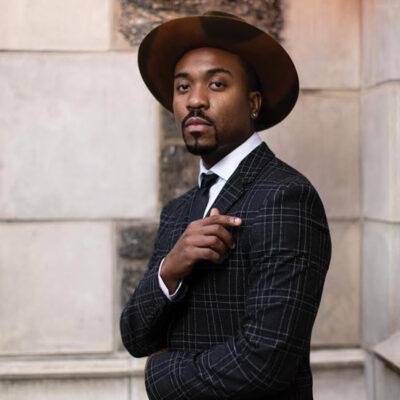 Django Jazz Vocalist Series: Charles Turner