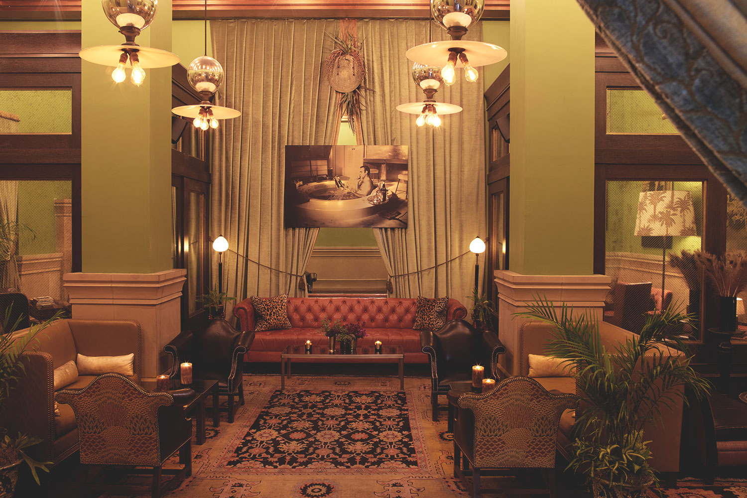 Club Room at Soho Grand Hotel | Club Room NYC | Soho Grand Hotel