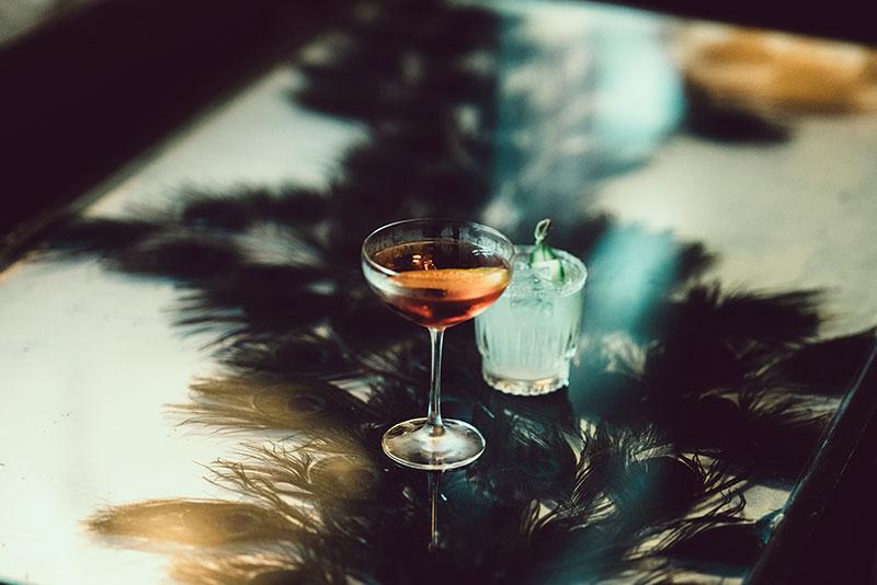 Grand Bar & Lounge Cocktail Detail