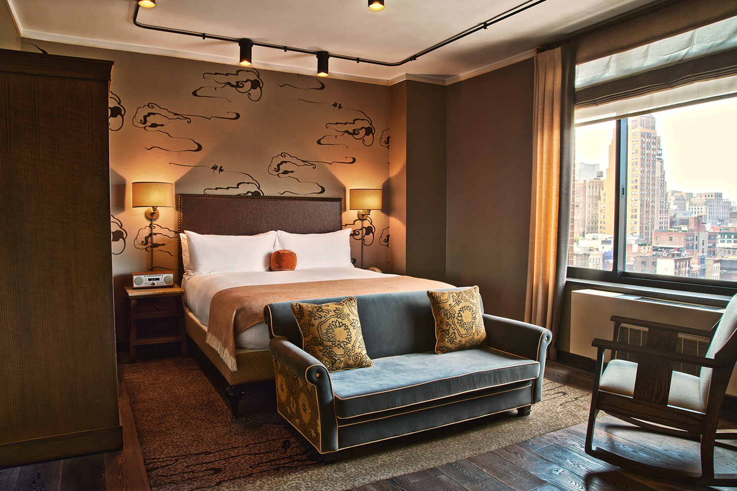 Grand Corner King Terrace Hotel Rooms And Suites Soho